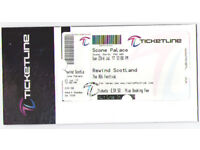 Rewind Music Festival at Scone - 1 Adult Ticket - ONLY £55 (cost £59.50 plus fee)