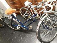 Vintage bike bicycle konet