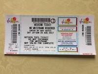 V Festival Weekend Ticket - Weston Park August 2017