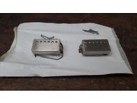 PRS 59/09 engraved nickel covered pickups