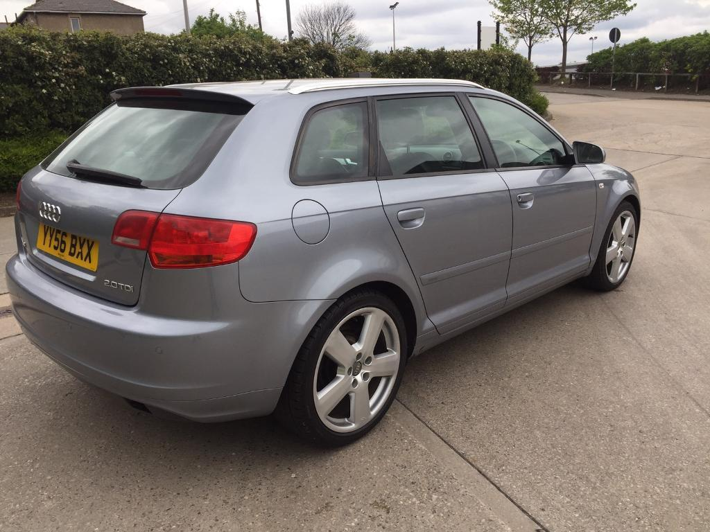 audi a3 s line tdi sportback 2 0 diesel 5 door hatchback grey 2006 year in bradford. Black Bedroom Furniture Sets. Home Design Ideas