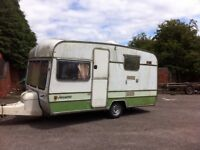 Caravan for parts/chassis or field shelter £1 ono