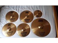 "Sabian B8 Cymbals - Performance Set (Plus 14"" Crash & Splash Cymbal)"