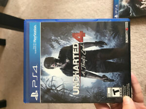 PS4 game Uncharted