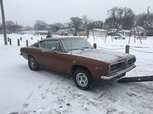 Wanted 67- 69 barracuda parts or whole car
