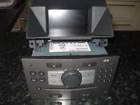 CD30 and display (BID) for Vauxhall Zafira B/Astra H