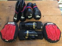 Punch Pads, Shin Guards & Foot Guards For Sale
