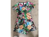 Boohoo play suit size 10