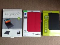 Samsung Galaxy Tab 1 keyboard case + ( New ) Galaxy Tab 2 case + ( New ) Galaxy Tab 3 case