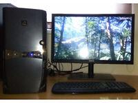 Gaming PC Intel i5 4 x 3.2GHz (up to 3.6GHz) GeForce GTX 770 OC 8GB RAM SSD + HDD Win10 Pro