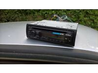 Sony car stereo CD usb/aux