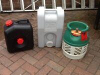 Filmma roll tank 23 BP lightweight gas bottle and waste water tank