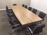 Boardroom Tables to seat from 6 to 24