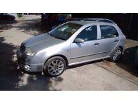 Skoda Fabia vrs 2004-04-reg, 1900cc turbo diesel, New mot on purchase, only 131,000 MILES