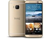 HTC M9 Grey, Gold (Unlocked) Smartphone in good condition