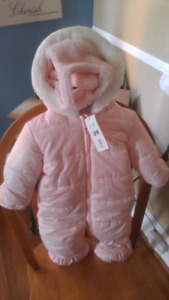 Girl snowsuit