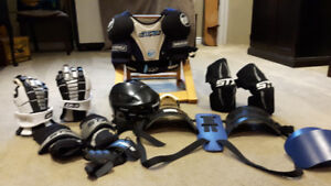 Lacrosse and hockey equipment
