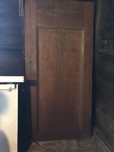 1908 Solid Oak Door