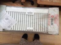 Single Biasi convector radiator 400 x 1000mm.