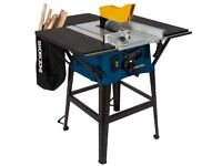 Work zone table saw