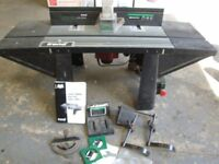 Trend Craftsman Router Table CRT2 MK2 with router and accessories