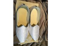 Indian wedding Shoes, new, never used, size 10