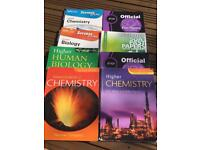 Bundle of higher textbooks and past papers