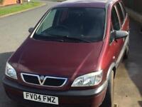 2004 04 Vauxhall Zafira 1.6 Life No Mot