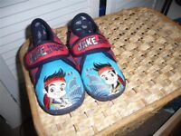 Jake and the Neverland Pirate slippers