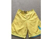Boys Ralph Lauren Swim Shorts - Size M