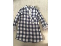 Ladies new with tags shirt with open back