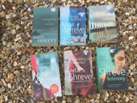 Six Anita Shreve books