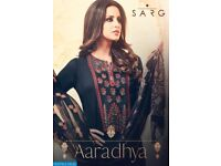 SARG AARADHYA WHOLESALE STRAIGHT LONG SALWAR SUITS