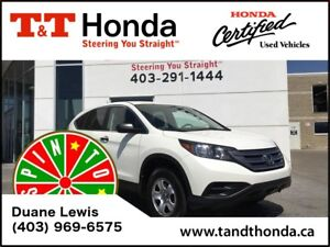 2013 Honda CR-V LX * Low KM, Heated Seats, Rear Cam*