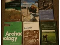 Archeaology Degree First year books