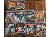 PS3 Lego Games 10-game collection