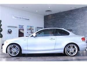 BMW 135i M Package Coupé, 2011, Cuir Rouge