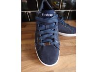 FireTrap Test Mens CASUAL SUMMER Trainers/ Shoes Blue Denim UK 9 VGC