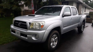 2007 Toyota Tacoma Double Cab Long Box TRD Sport Safety Safetied