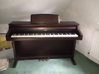 Technics SX-PX207 Digital Piano, 88 weighted keys, 3 pedals, Steinway samples