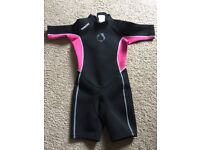 Wetsuit age 8-10 years