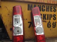 Rear lights for Citroen Relay, Peugeot boxers and fiat Ducato