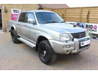 2003 MITSUBISHI L200 TD 4WD LWB WARRIOR DOUBLE CAB PICK UP DIESEL
