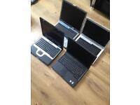 Joblot of 4 working laptops