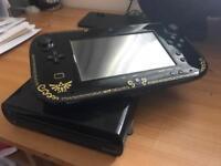 Wii U black Zelda Edition unboxed