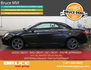 2008 Chrysler Sebring TOURING 2.7L 6 CYL AUTOMATIC FWD 2D CONVER