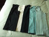 5 assorted mens vest size medium,used but in good clean condition washed and ironed