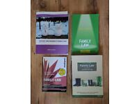 Family Law Books £20 for all 4