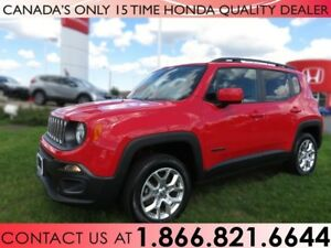 2016 Jeep Renegade NORTH 4X4 | NO ACCIDENTS | 1 OWNER