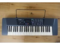 Casio CTK100 Tone Bank Electric Keyboard + stand